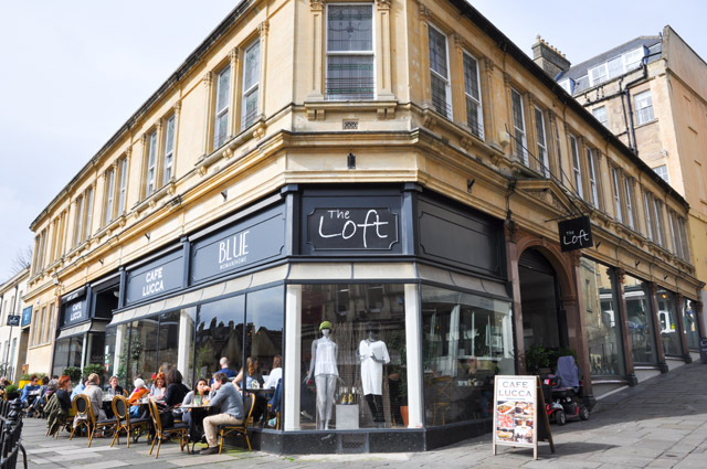The Loft Concept Store on Bartlett Street, Bath