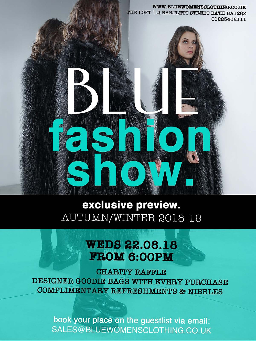 Charity Fashion Show Poster