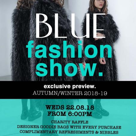 Blue's Charity Fashion Show