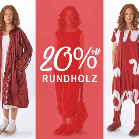 20% Off Rundholz at Blue