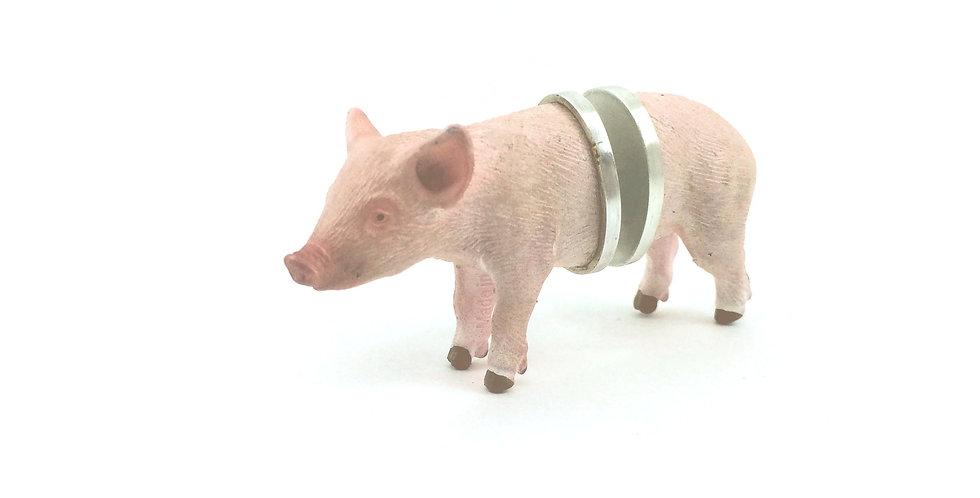 Broche Híbrido- Porquinho