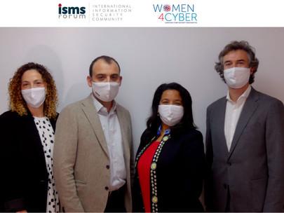 Women for Cybersecurity Spain firma su primer acuerdo de colaboración con ISMS Forum