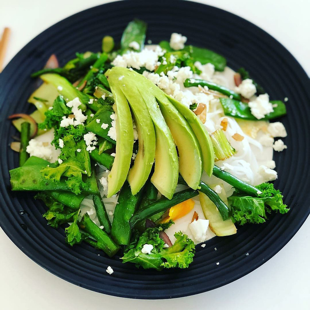 Eating healthy is easy at Rudy's!