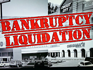 Bankruptcy and liquidation