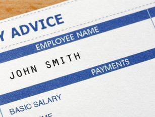What information must be on a payslip?