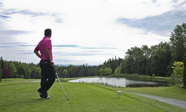 golf pittoresque à 10 min.