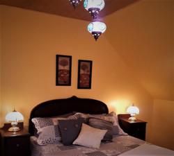 bedroom 3 upstairs - queen size bed