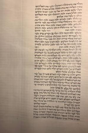 Column 6 - end of Parashat Bereishit and