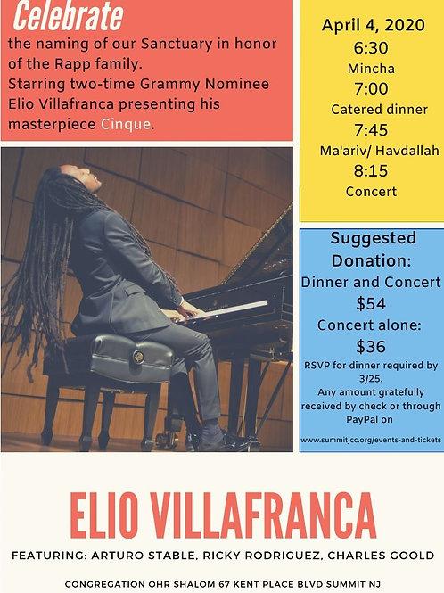 Elio Villafranca Concert