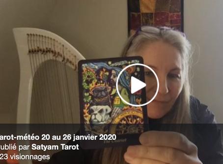 Tarot-Météo 20 au 25 janvier