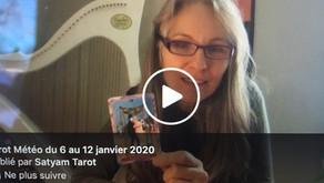 Tarot-météo du 6 au 12 janvier 2020