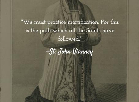 Saint Quote Series: St. John Vianney