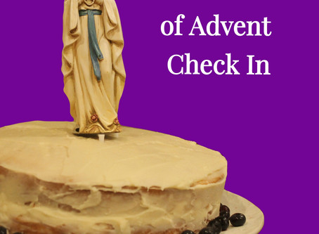 Second Week of Advent Check-in