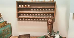 DIY Farmhouse Egg Rack for Storing Farm-fresh Eggs