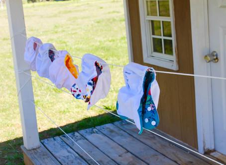 (Part I) Cloth Diapering Newborns: A Beginner's Guide