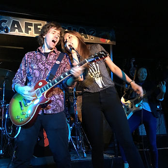 History of Rock Live Show JT & Emily Squ