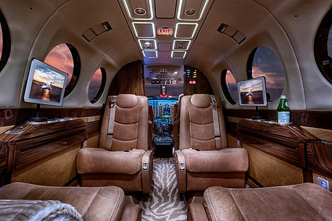 King Air 350 Cabin Area