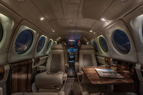 King Air 200 Cabin Area