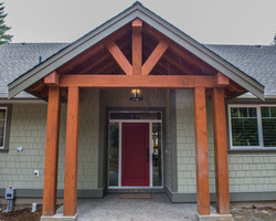 Exterior by Pickard Construction
