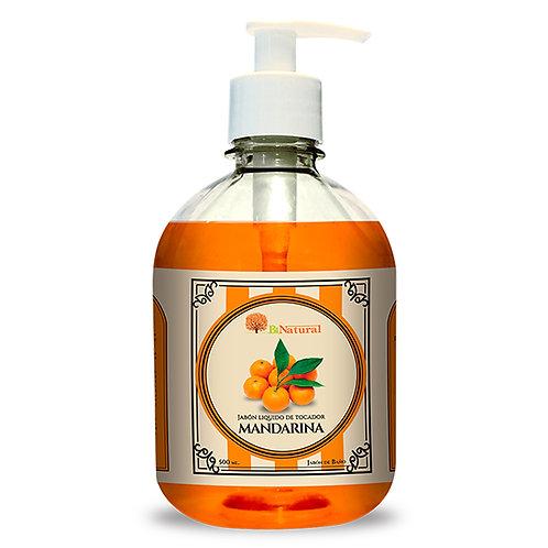 Jabón Líquido de Mandarina