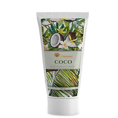 Leche Hidratante Corporal de Coco