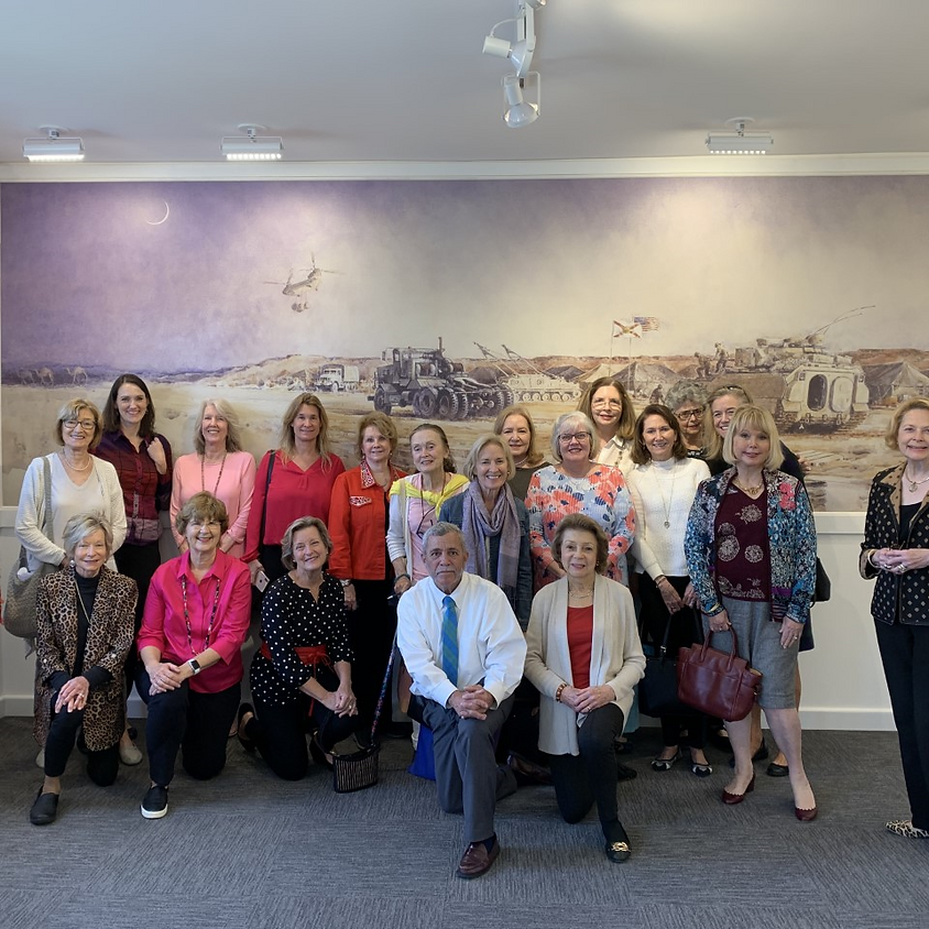 Colonial Dames Visit to the Miami Military Museum