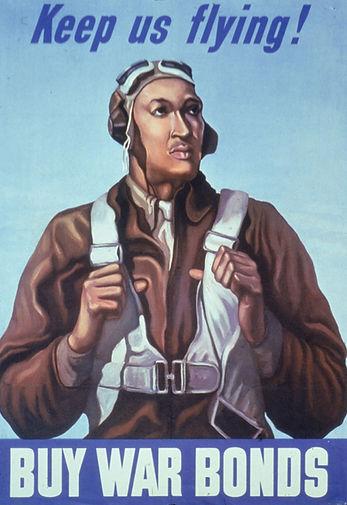 Poster-member-war-bonds-Tuskegee-Airmen-