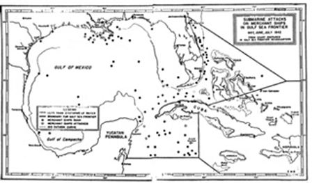 Gulf Sea Frontier showing ships sunk.JPG
