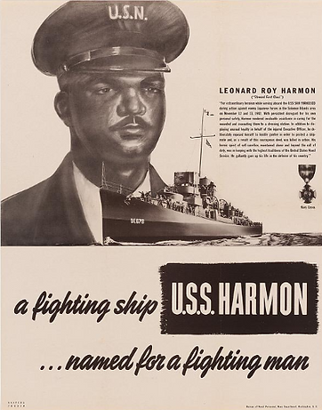 Messman First Class Leonard Roy Harmon .