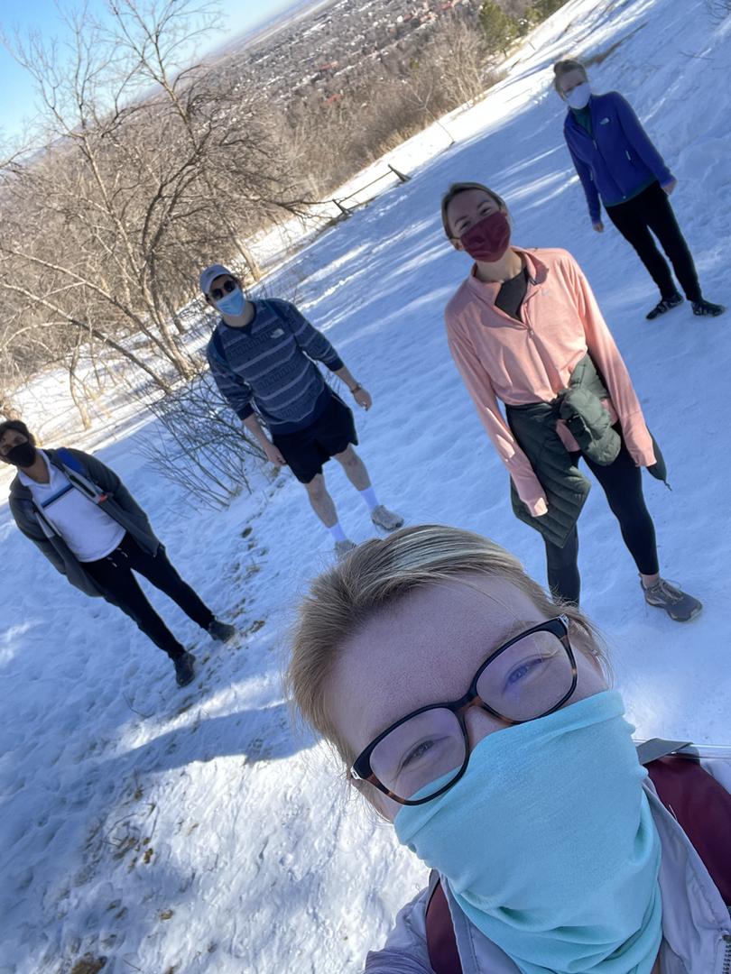 March 2021 lab hike