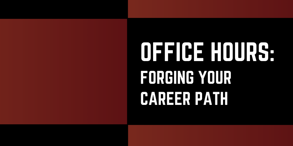 SNBAA Office Hours session - Forging Your Career Path and Detours