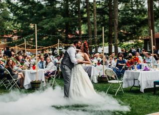 Lisa's Whimsical Rainbow Forest Wedding!