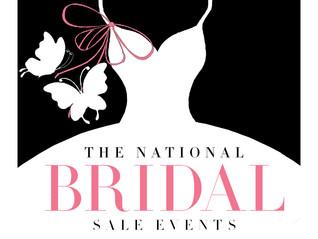 National Bridal Sale!
