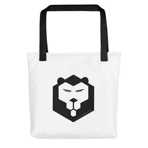 トートバッグ-六角ライオン / Tote bag - Hexagon lion