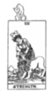 Sixth Sensical Tarot strength