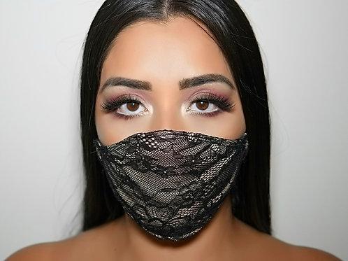 Lace fashion mask