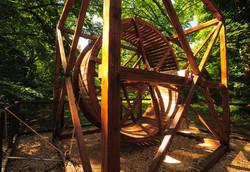 Maquette roue a écureuil