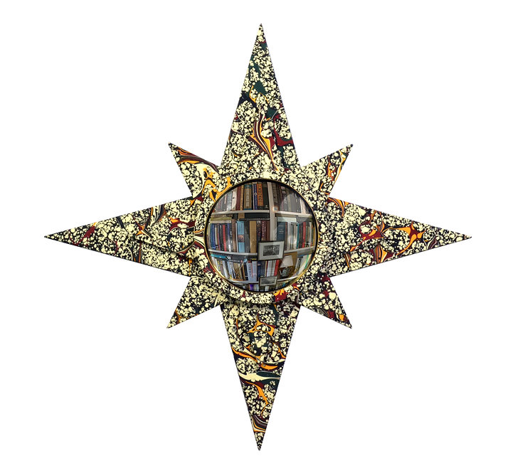 Convex Mirror Nº 6, Gray Speckle