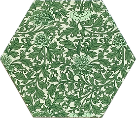 6 in hex green floral G1.png