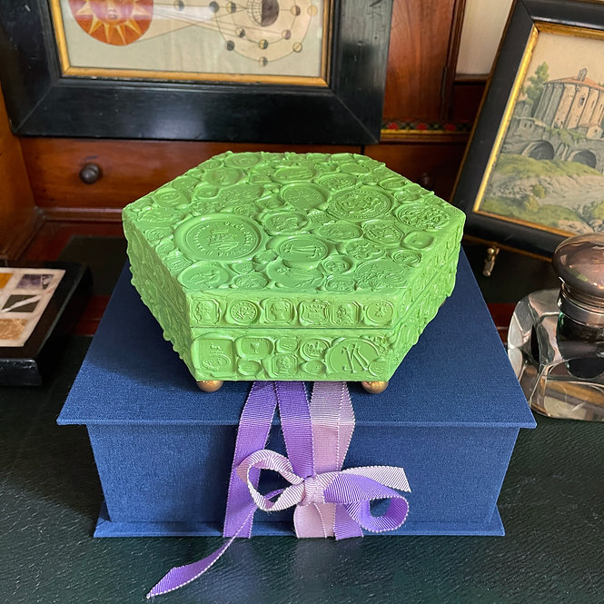 Wax Seal Box Nº 1, Pistachio