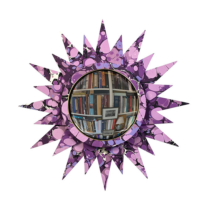 Convex Mirror Nº 2, Amethyst