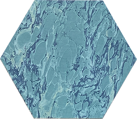 6 in hex blue fr marble G2.png