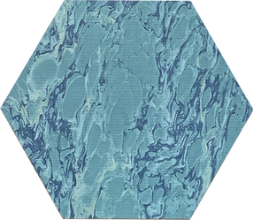 Blue French Marble