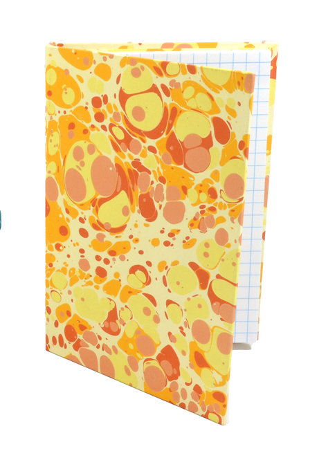 """4x6"""" Sticky-Note Folio in Daffodil Marble"""