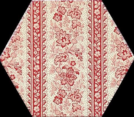 Red Stripe Floral
