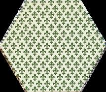 Green Fluer De Lys