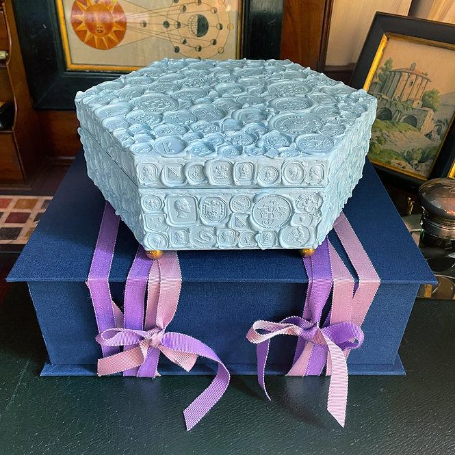 Wax Seal Box Nº 4, Sky Blue