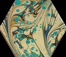 Lewis Turquoise-Tan-Spot Print