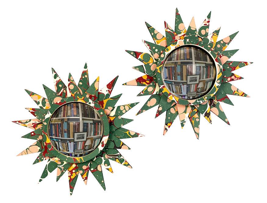 Convex Mirror Nº 2, Jade Spot