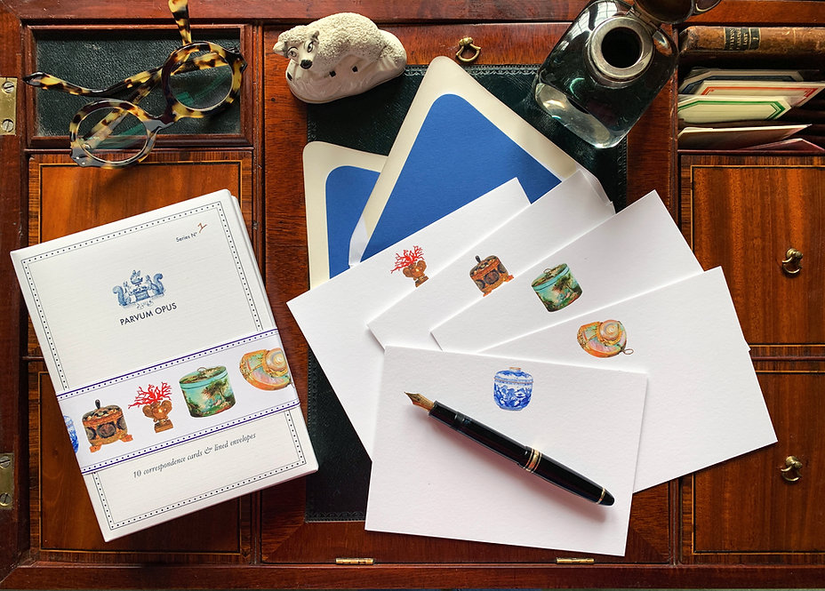 Correspondence Card Folio, Series Nº1